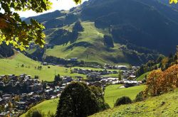 View of Saalbach Hinterglemm